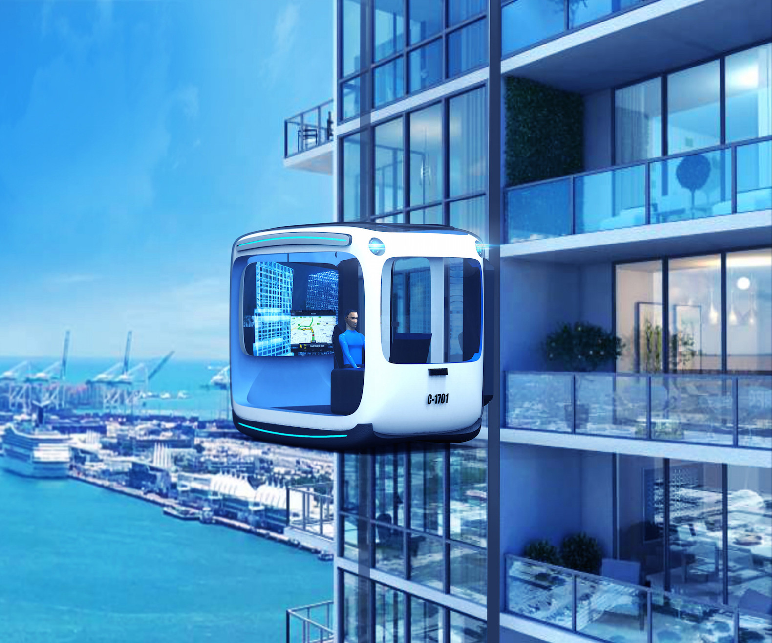 Tridika Is A Self Driving Maglev Vehicle That Would Double As Portable Living Room