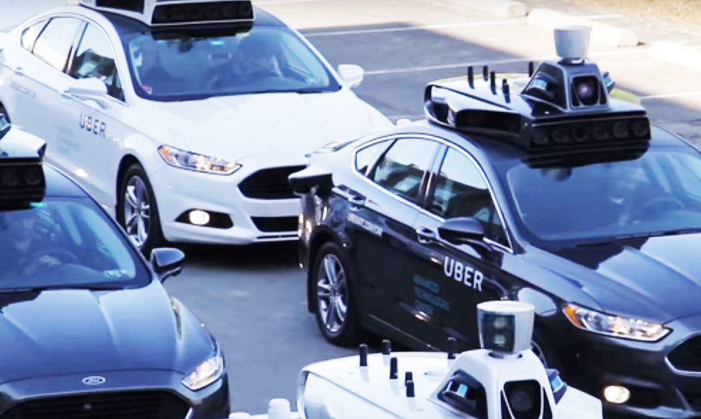 Uber Launches Self Driving Car In Pittsburgh