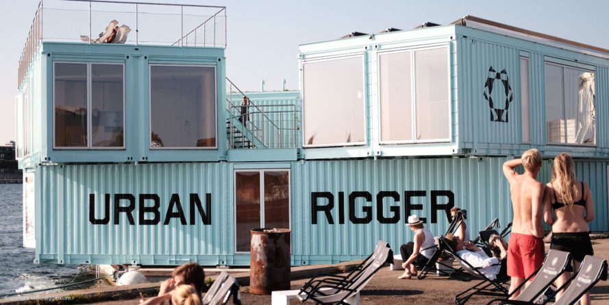 Urban Rigger by BIG, solar-powered student housing, floating architecture, shipping container student housing, floating cargotecture, floating student housing, solution to student housing shortage, Urban Rigger in Copenhagen, Urban Rigger housing, Urban Rigger shipping containers, Urban Rigger costs