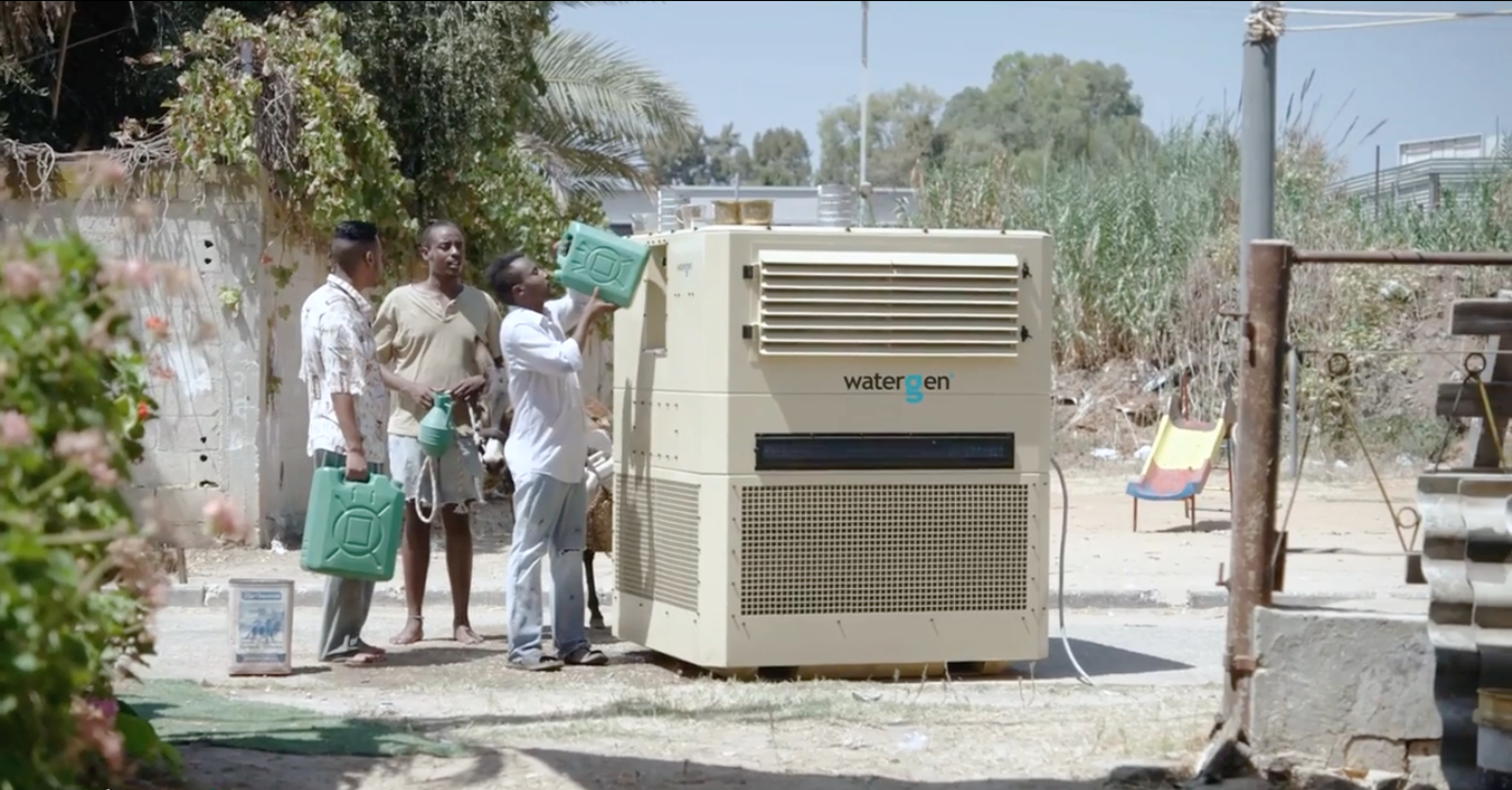 Innovative Water-Gen machine harvests up to 825 gallons of clean water from thin air in a day