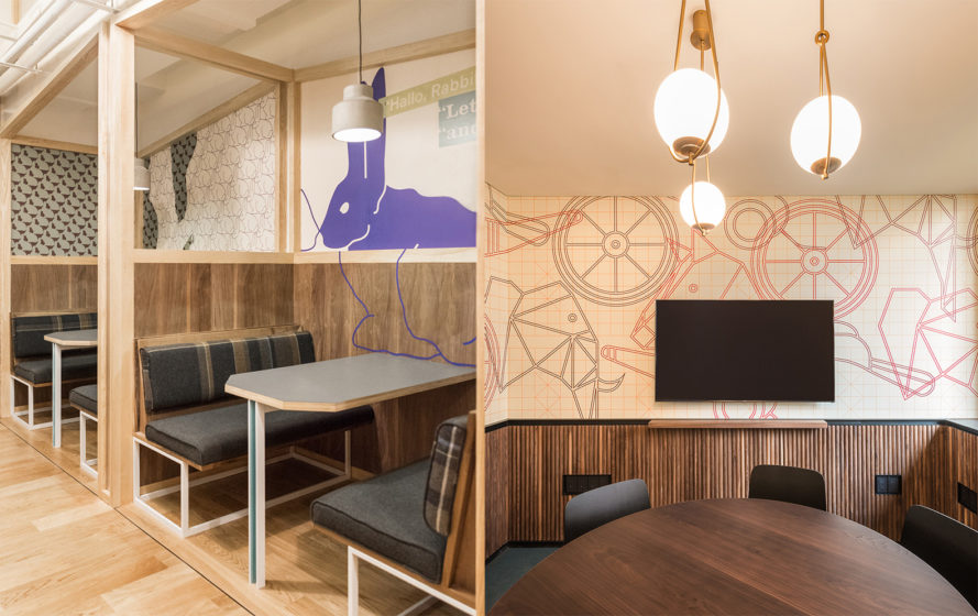 WeWork Yanping Lu by Linehouse, WeWork in Shanghai, WeWork Yanping Lu, WeWork Hunter Gatherer, coworking space in Shanghai, longtang modern architecture,