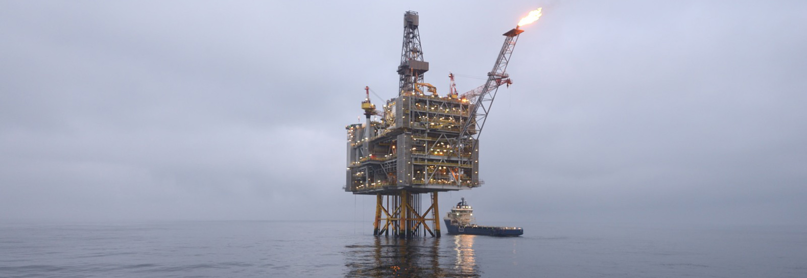 BP oil platform in the North Sea leaks and there are no plans to clean it up