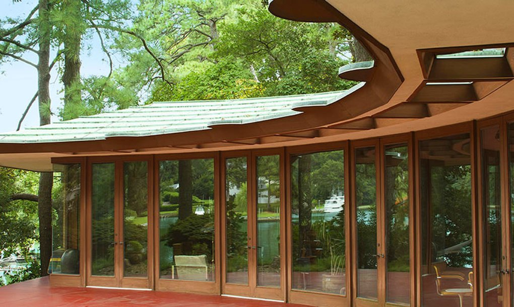 Airbnb For Cars >> Frank Lloyd Wright beach house listed on Airbnb for under $150 per night | Inhabitat - Green ...