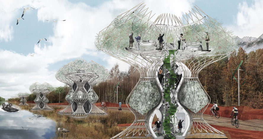 Aquaponic Future Housing, Biodesign Competition, bio design competition, biodesign futures, Architecture, Green Building, design competition, design competitions, xprize, xprize competition, X-prize for regenerative building, biodesigned futures competition, green building, green design, biomimicry, design for health, humanitarian design, resilient design, sustainable design, green building materials, sustainable materials, synthetic biology, bio-printing, computational design, materials engineering, technology, innovation