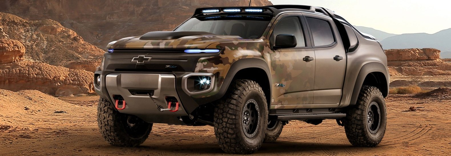 Us Army To Start Testing A Fuel Cell Powered Chevy Colorado Zh2