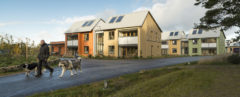 What an ecovillage should be, wind-powered eco-village in Scotland, zero carbon eco-village Scotland, East Whins at Duneland, John Gilbert Architects, Tom Manley photographer, Scotland eco-village, East Whins community, UK ecovillages, zero carbon ecovillage