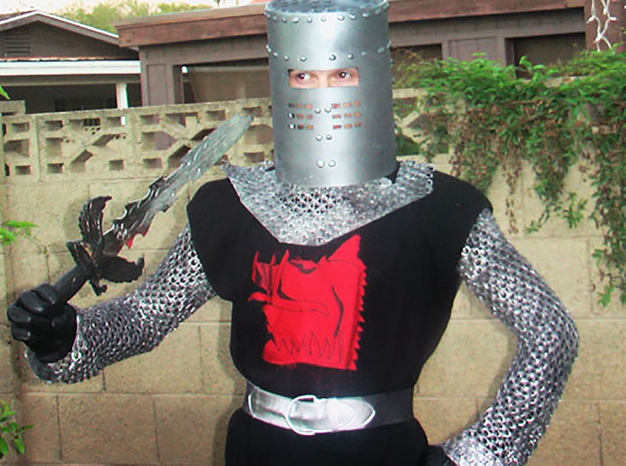 soda tab halloween costume, costume made with soda tabs, soda tab crafts, green halloween