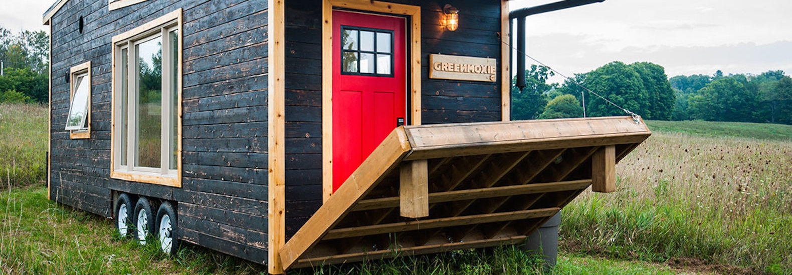 greenmoxie tiny house lets you live mortgage-free and off-grid in