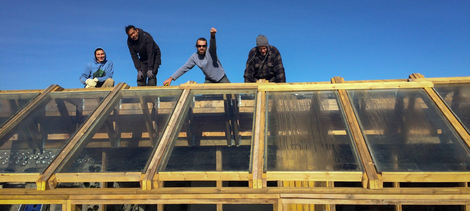 Canadian nonprofit builds North America's first urban earthship in Calgary