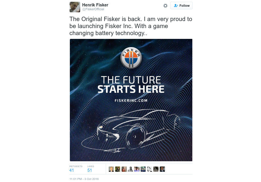 fisker, fisker inc, henrik fisker, 400-mile range, ev range, tesla, tesla model 3, mass market ev, mass market electric car, affordable electric sports car