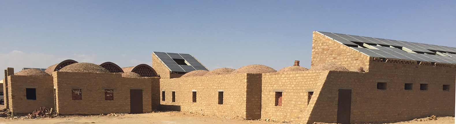 Egypt's first solar-powered village rises from the desert in Bahariya Oasis