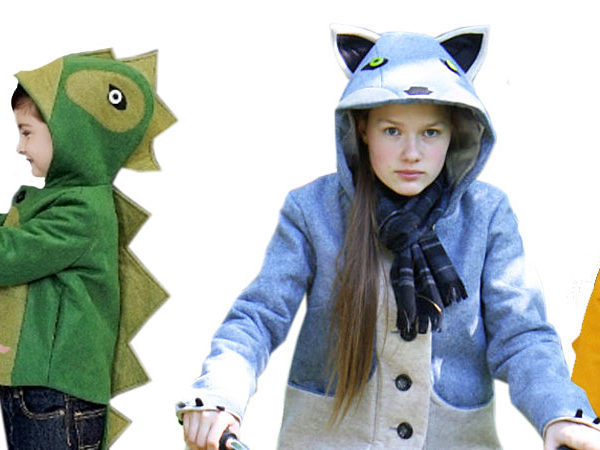 critter coats, animal coats, animal jacket, fox jacket, dinosaur jacket, wolf coat, bunny coat, butterfly capelet, Little Goodall, Halloween coats, costume coats, costume jackets, little goodall, little goodall jackets, little goodall animal coats, molly goodall