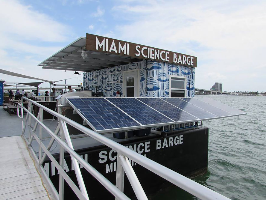 Miami Science Barge, Miami, Florida, science, science barge, barge, sustainability, kids, children, field trips, Knight Cities Challenge, CappSci, science education, education, education center