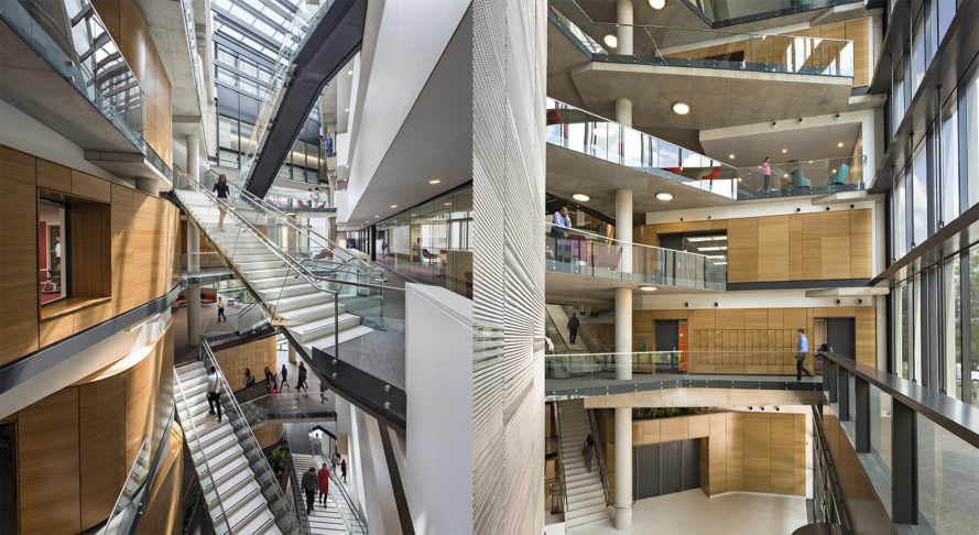 engineering health into architecture milken institute school of public health by payette gwu school - Gwu Interior Design