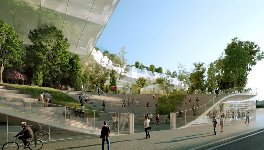 Sou Fujimoto, Mille Arbres, french architecture, paris architecture, Paris apartments, biodiveristy, Biodiversity Roof, Philippe Starck, green paris, paris, sustainable architecture, ecological architecture, urban garden