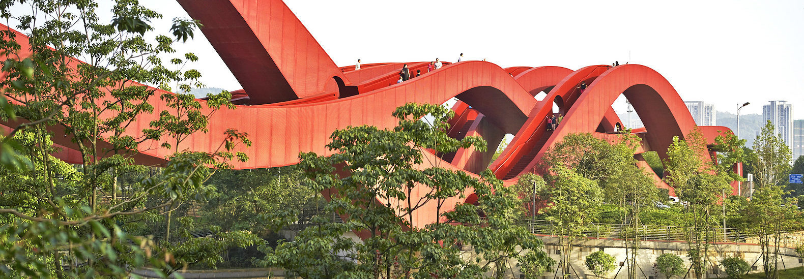 Spectacular Lucky Knot Bridge In China Twists And Turns Like A Möbius Strip