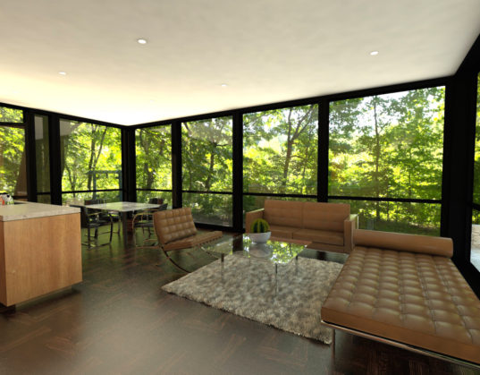 Prefab Glass House Lets You Bring Home The Spirit Of
