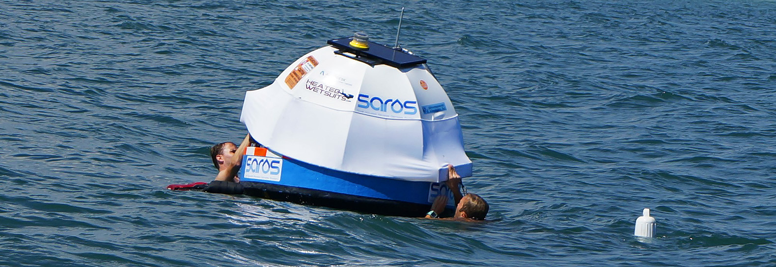 Floating wave-powered desalination buoy cuts price of clean water production in half