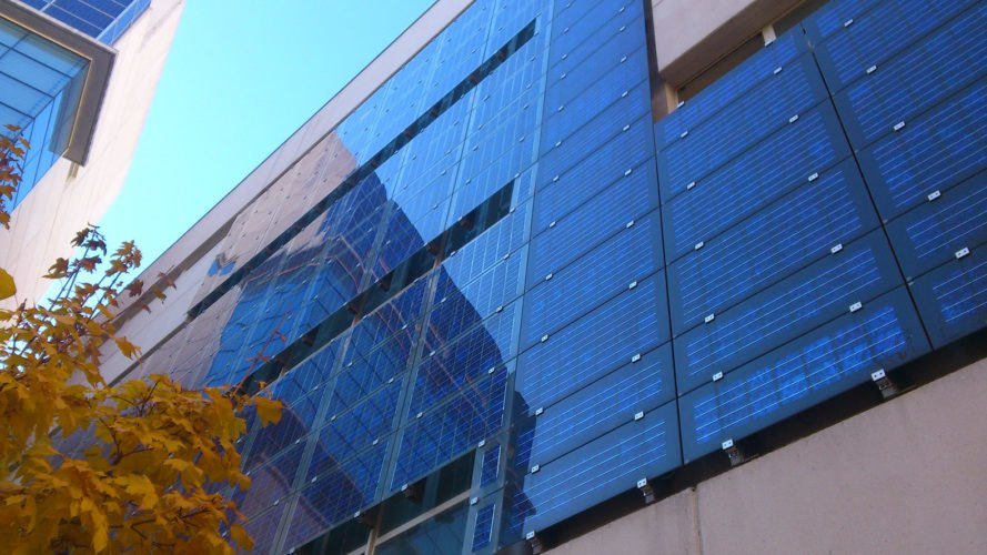 Los Alamos National Laboratory, national laboratory, laboratory, solar, solar energy, solar power, solar window, solar windows, quantum-dot solar windows, quantum-dot, technology, scale up, scaling up, solar facade, solar facades