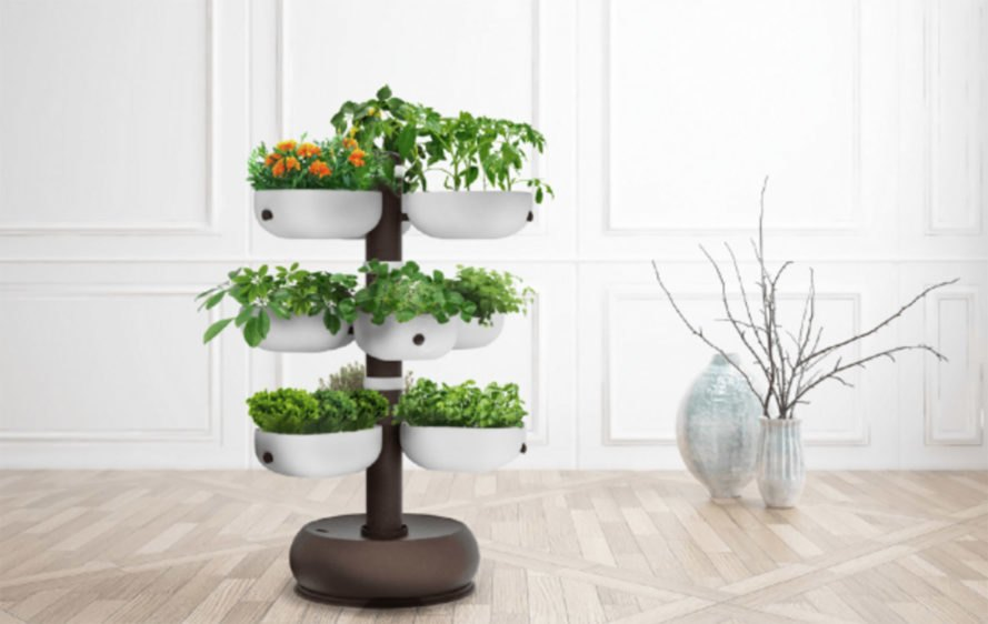 Smart taiga tower is like having an 80 square foot garden for 80 ft garden design
