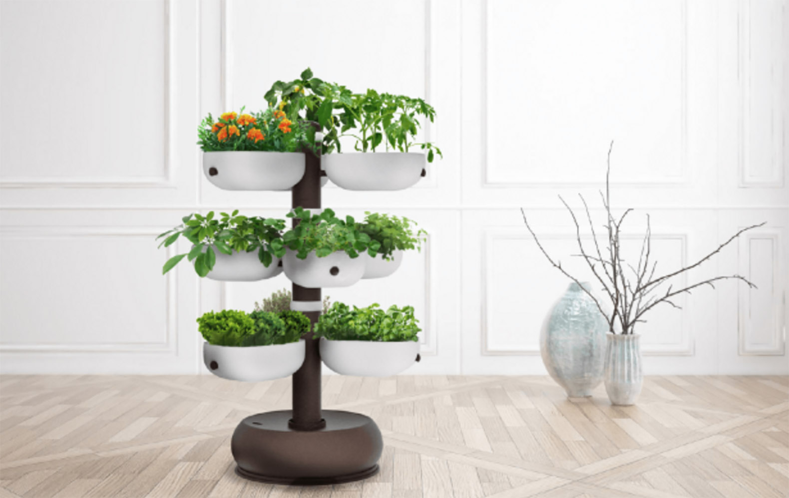Indoor garden inhabitat green design innovation for Indoor gardening videos