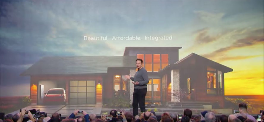 solar roof tiles, solar tiles, BIPV, solar roofing, integrated solar roof tiles, Tesla, SolarCity, solar roof, solar power, off-grid, Solar City Tesla