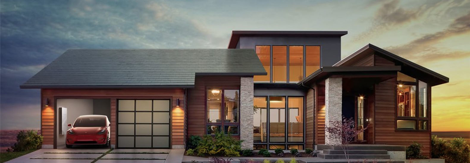 BREAKING Elon Musk unveils TeslaSolarCity integrated solar roof