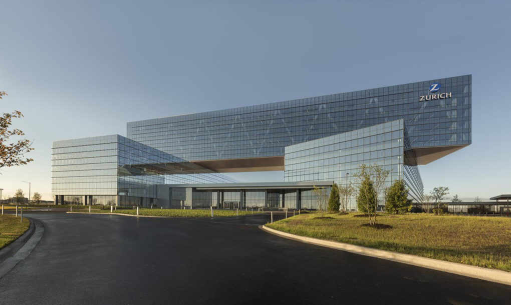 Zurich Insurance Group S New Green Roofed Headquarters In