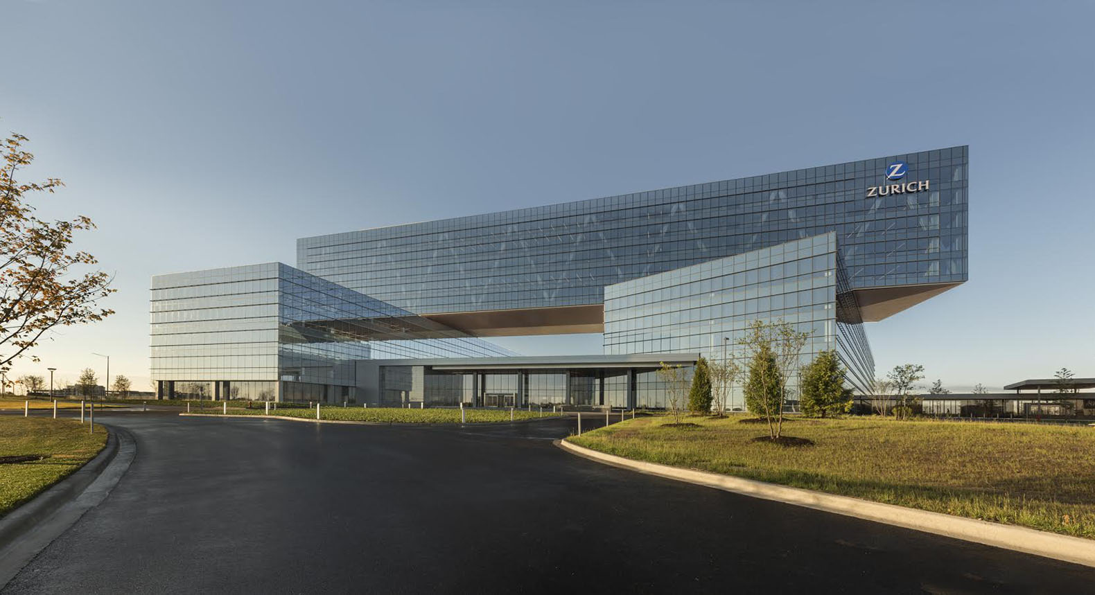 Zurich Insurance Groups New Green Roofed Headquarters In Chicago