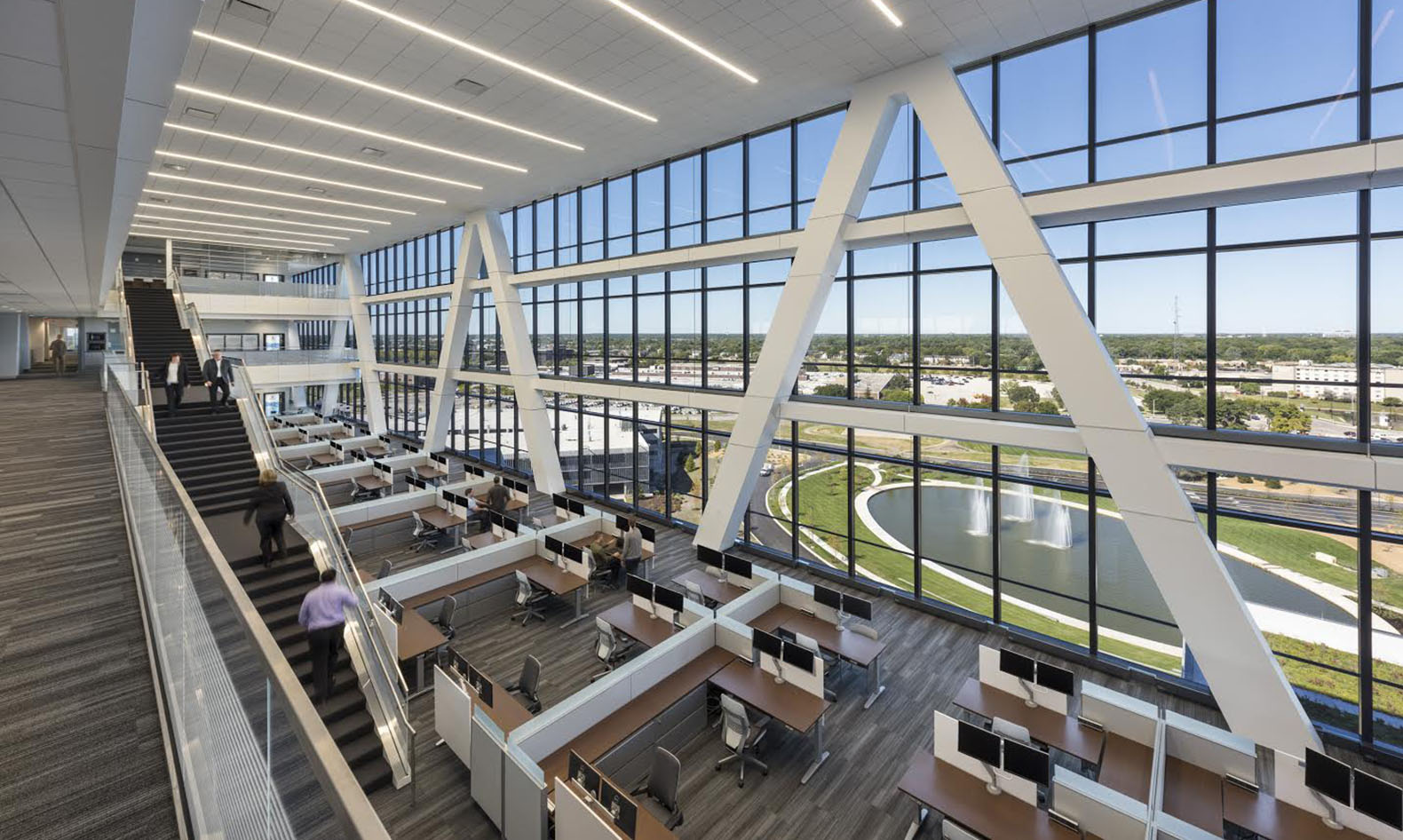 Zurich Insurance Group Headquarters Goettsch Partners Thornton Tomasetti LEED Platinum Certification Green