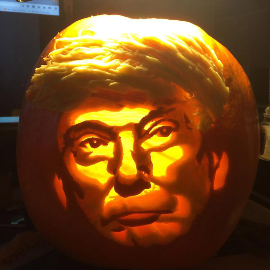 20 Trumpkins That Are Making Halloween Great Again