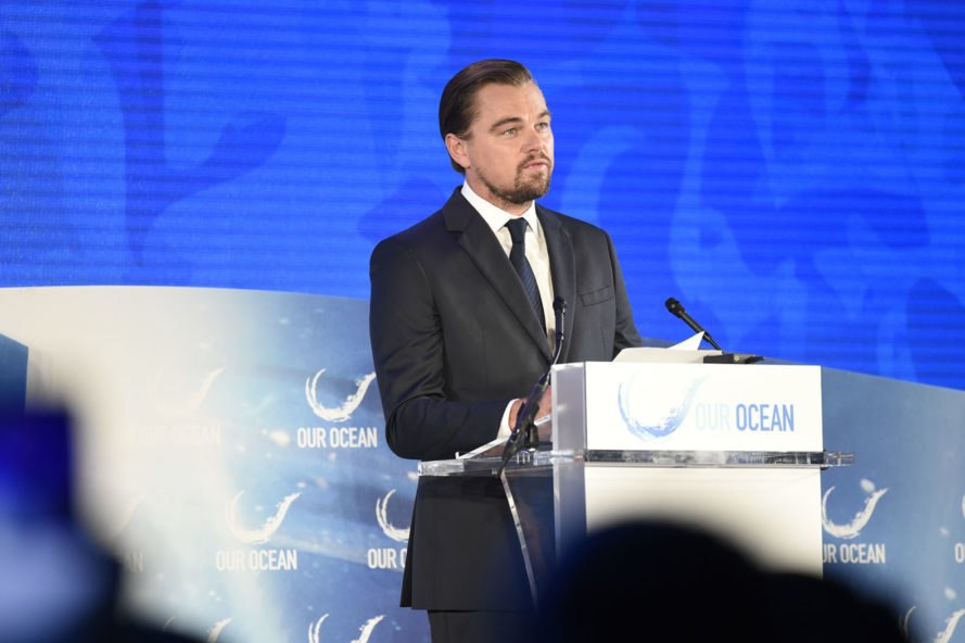 leonardo dicaprio, actors, hollywood, climate change, global warming, mars, elon musk, spacex, donald trump