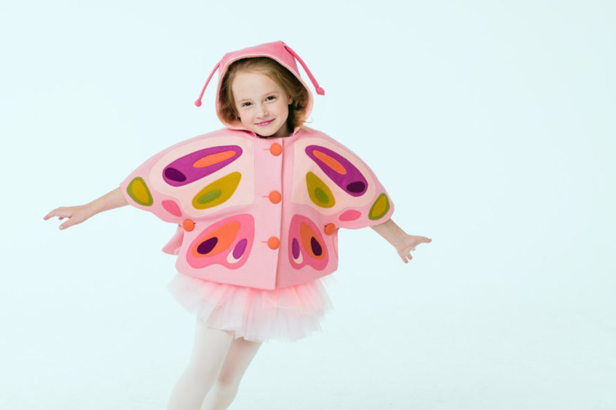 Little Goodall Butterfly Jacket