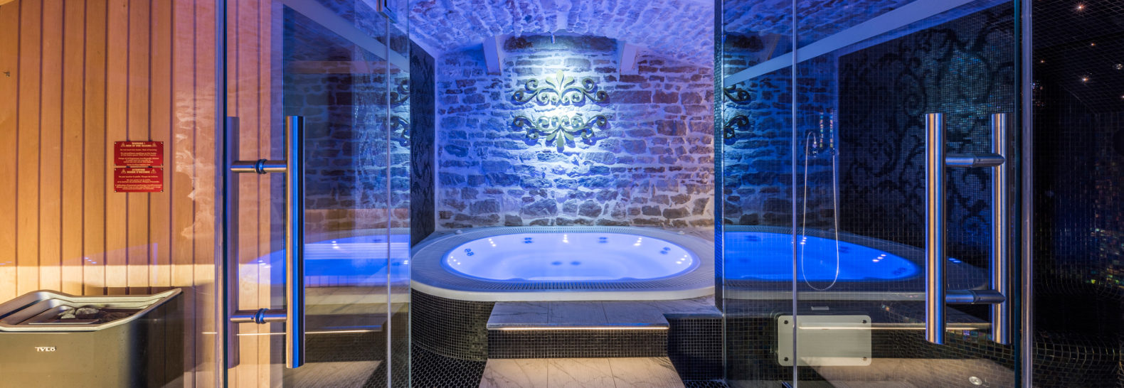 Former subterranean crypt in France transformed into a soothing spa ...