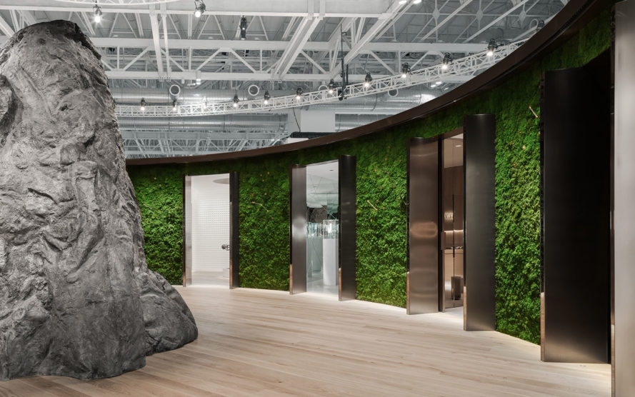 Audemars Piguet museum, temporary museum, Mathieu Lehanneur, Yuz Museum of Contemporary Art, Shanghai, temporary structure, temporary exhibition, green architecture, luxury watches, temporary installation