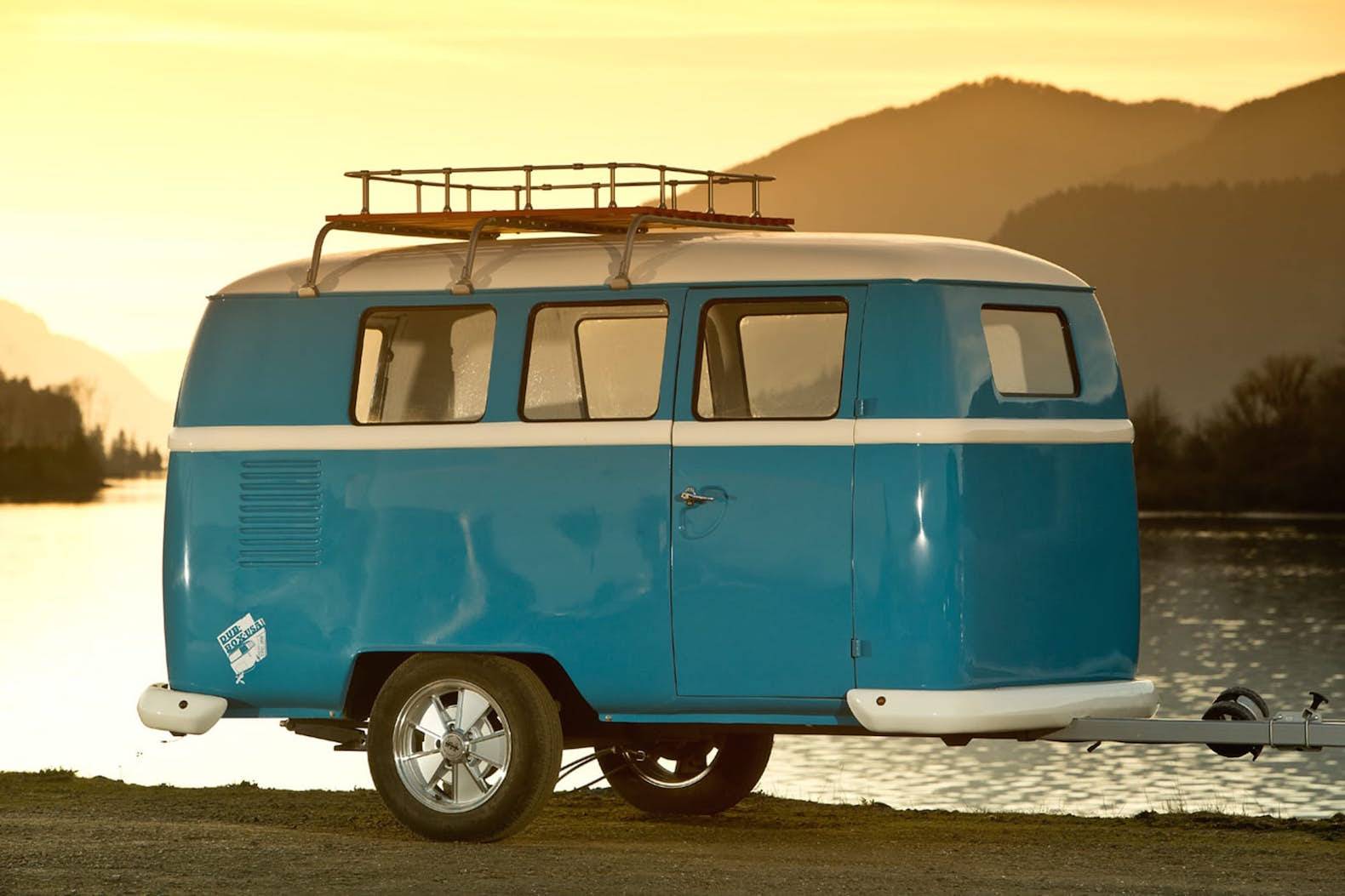 Affordable And Compact Dinky Dub Camper Offers A Modular Twist To The Vintage VW Look