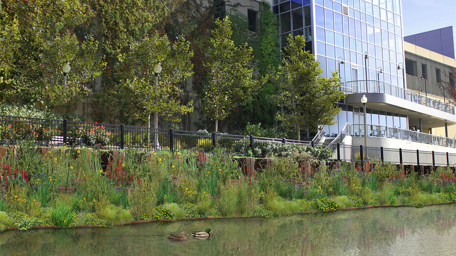 Garden Chicago: UrbanRivers Plans To Install Floating Gardens In The