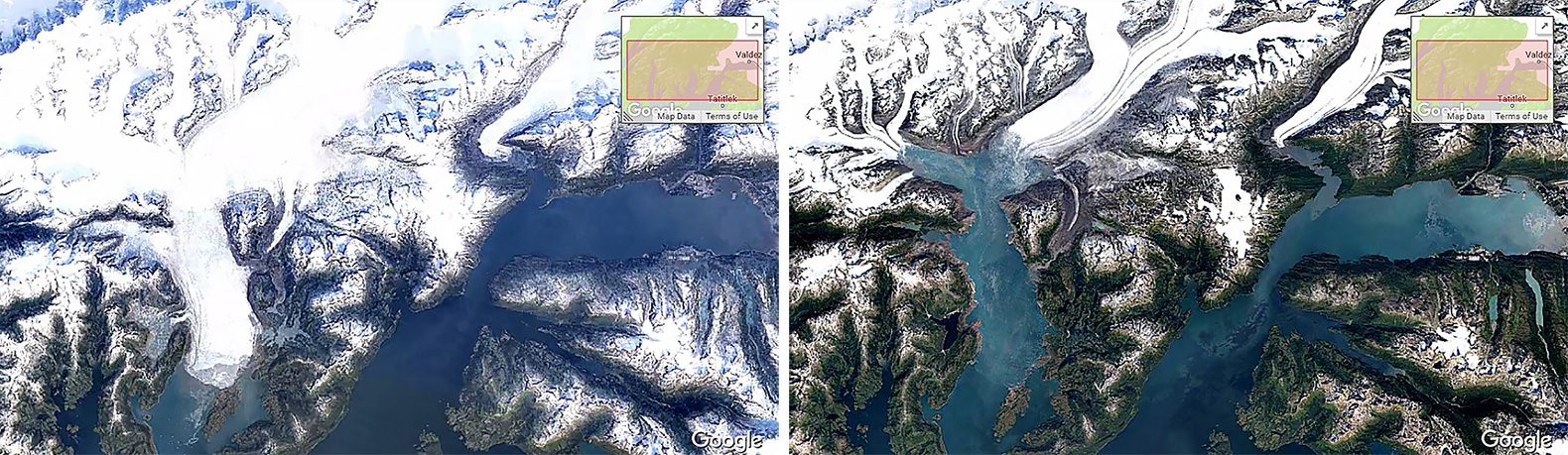 google timelapse shows how humans have destroyed earth over 32 years