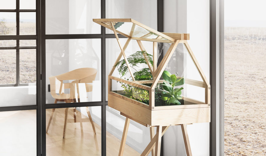 Greenhouse, Atelier 2+, MoMA gifts, indoor greenhouse, miniature indoor Garden, greenhouse design, indoor garden, mini garden, Greenhouse from Bangkok, MoMA Greenhouse, holiday gifts for green thumbs