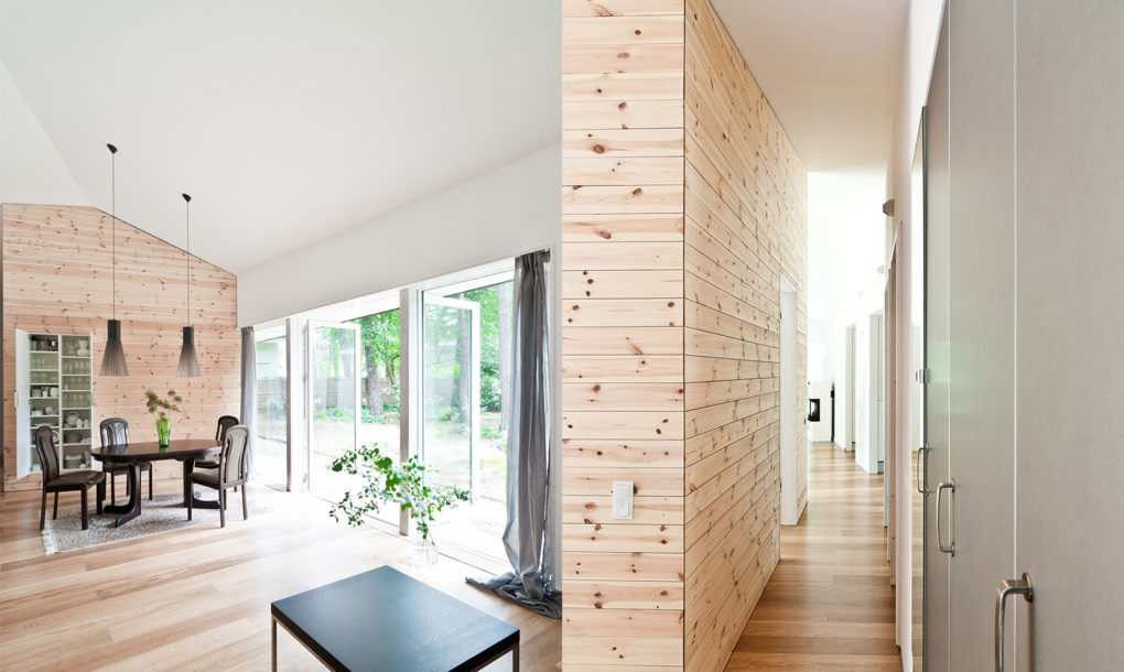 Contemporary cabin is a light-filled retreat in the German forest ...