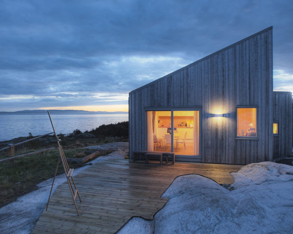 K21 Cottage, spruce, cottage, Norway, TYIN Tegnestue Architects, marshland, green architecture, green cottage, patina, green retreat