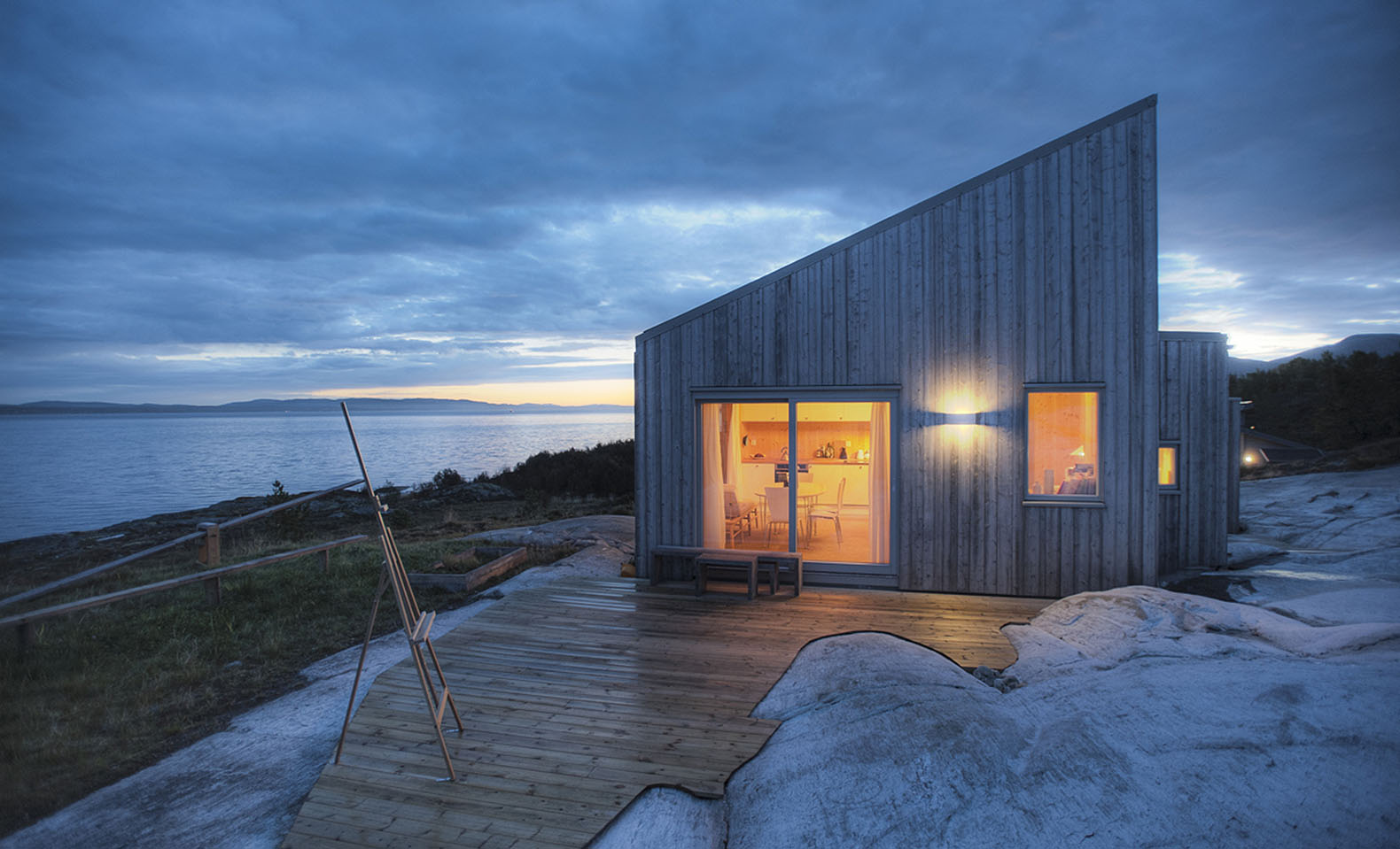 Awesome Quaint Spruce Clad Cottage Is Crafted From Wood Harvested On Site