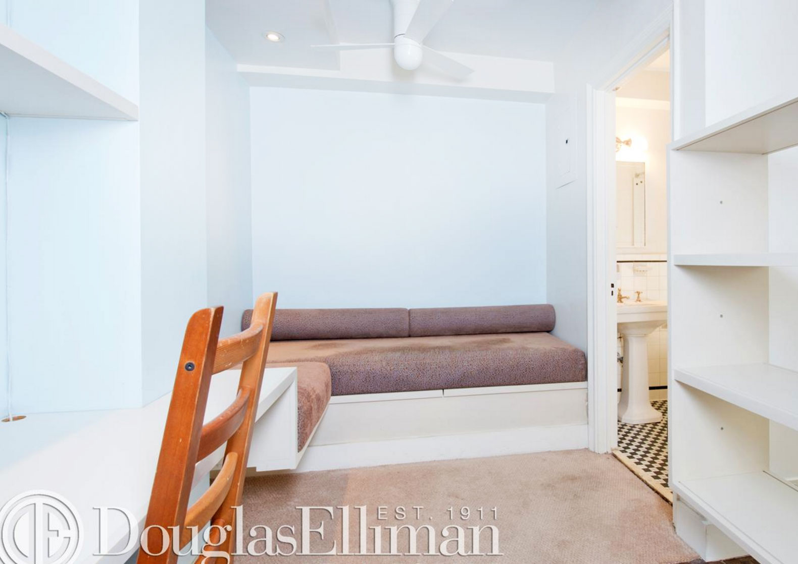 Miniature Manhattan Studio Comes With Pre Installed Murphy Bed And Lots Of Built In Storage