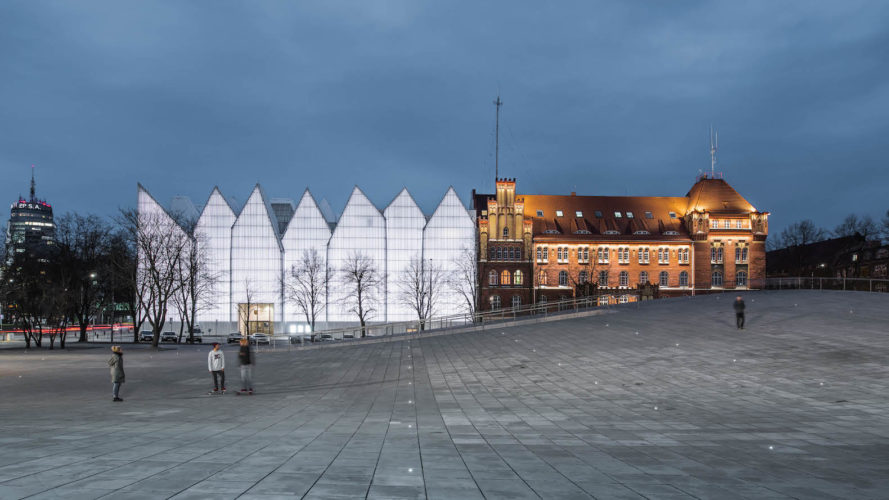 National Museum in Szczecin, National Museum in Szczecin by KWK Promes, World Building of the Year 2016, World Building of the Year 2016 National Museum in Szczecin, Szczecin Square by KWK Promes
