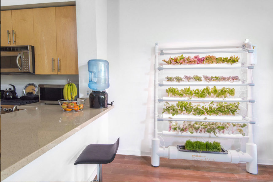 Create your own indoor mini farm with the energy efficient GrowBox