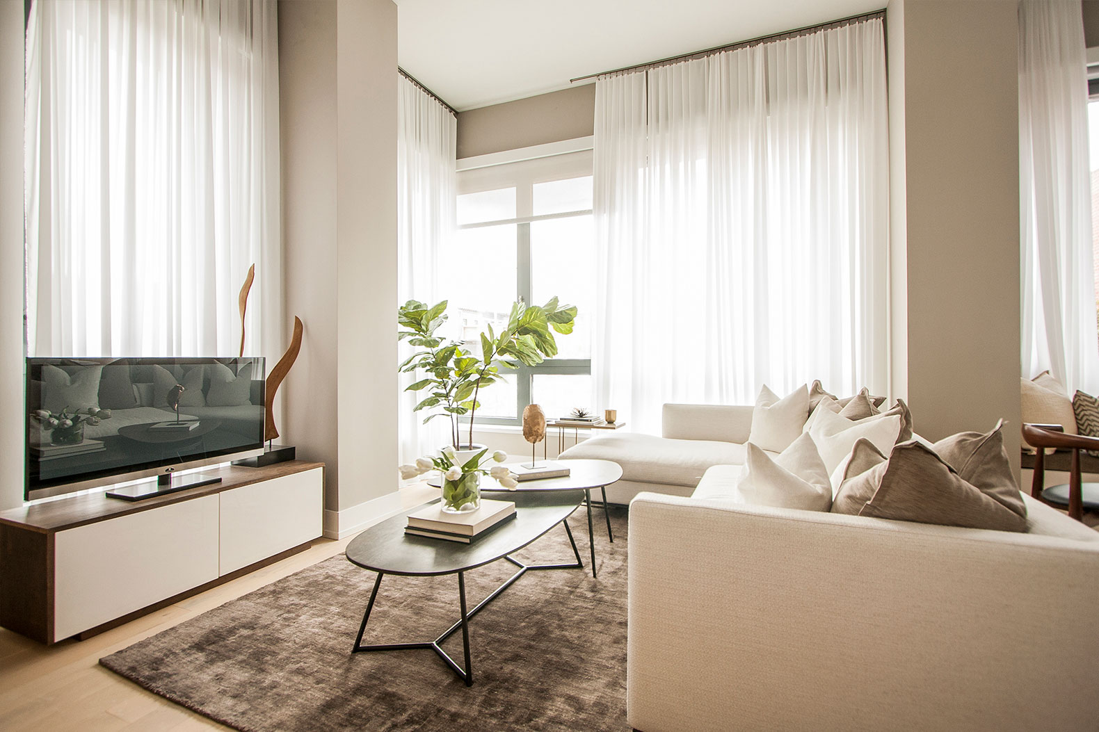 Sneak a peek inside the beautiful new model apartment at for New model apartment
