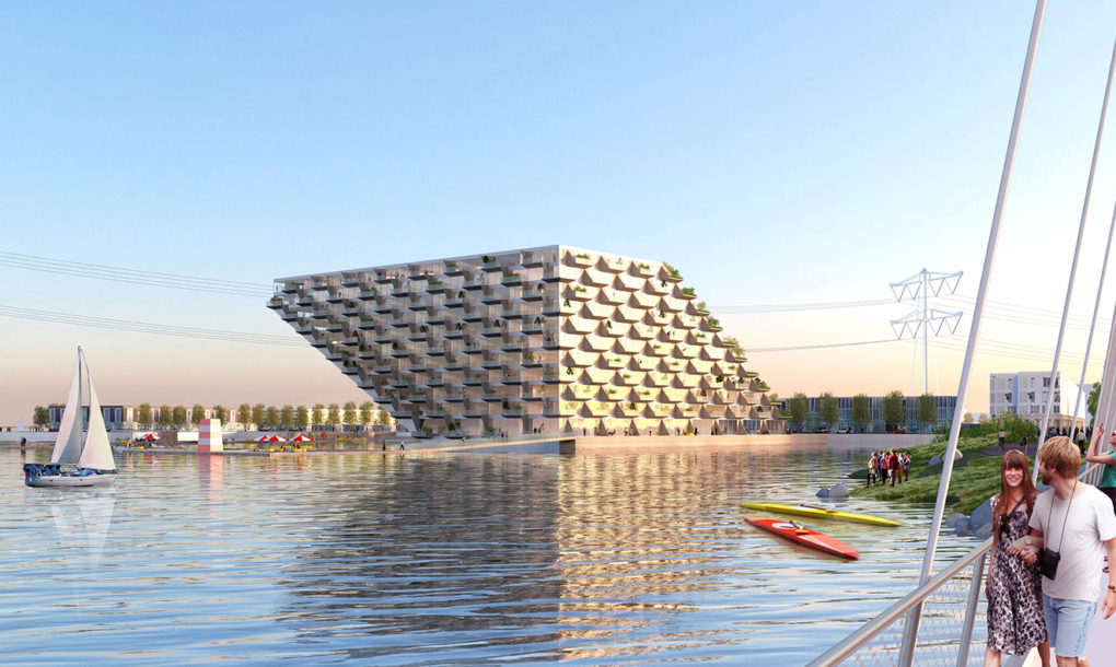 Big And Barcode Architects Unveil Floating Zero Energy