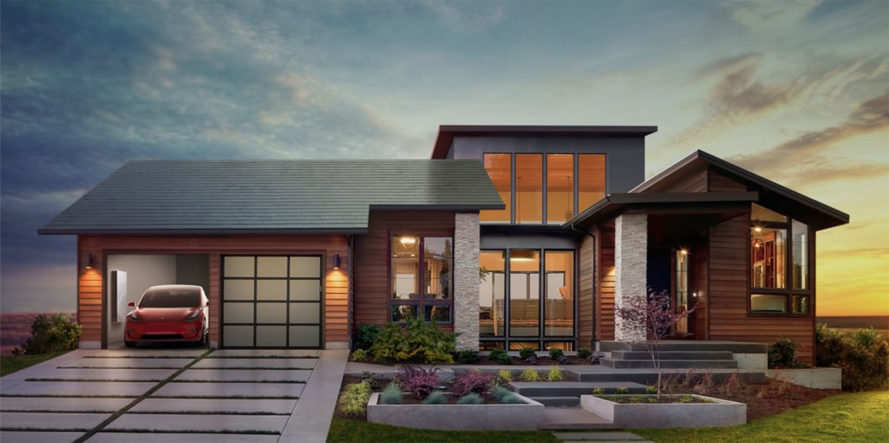 tesla, tesla solar, tesla solar roof, tesla model 3, model 3 roof, model 3 solar roof, solarcity, glass solar panels, glass roof, electric vehicle, solar electric vehicle