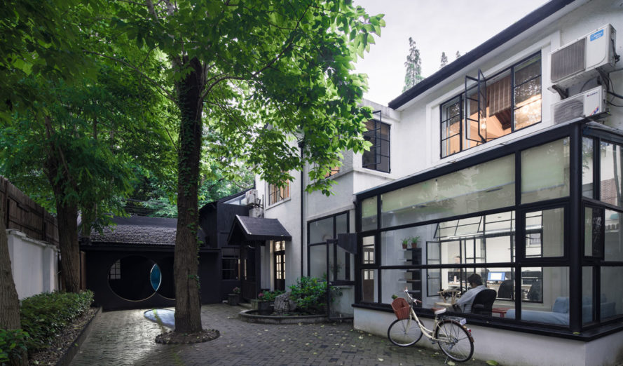 Wutopia Lab, The Third Eye-Micro Renovation, green restoration, Shangai, Chinese architecture, office space, historic building, green architecture