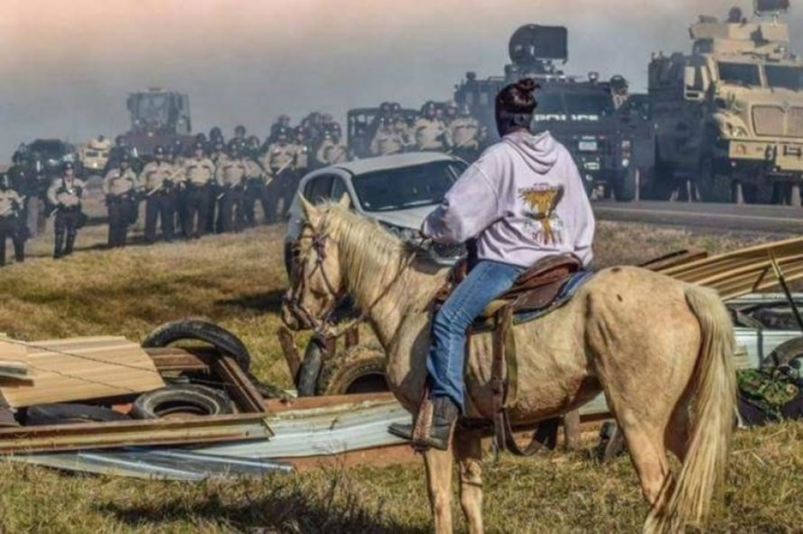 Veterans Stand for Standing Rock